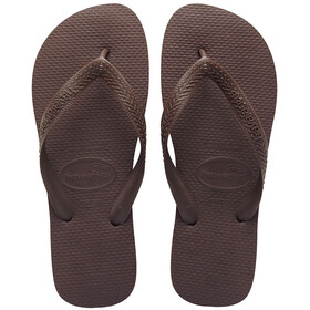 havaianas Top Flips Unisex Dark Brown
